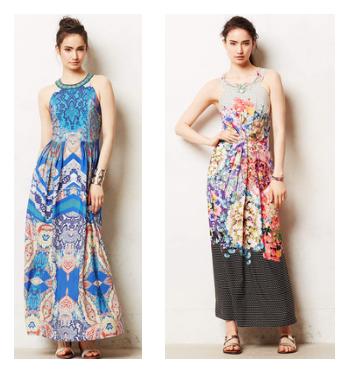 Anthropologie Maxi Dress, Anthropologie Boteh Maxi Dress, Boteh Maxi Dress, Trendy in Texas