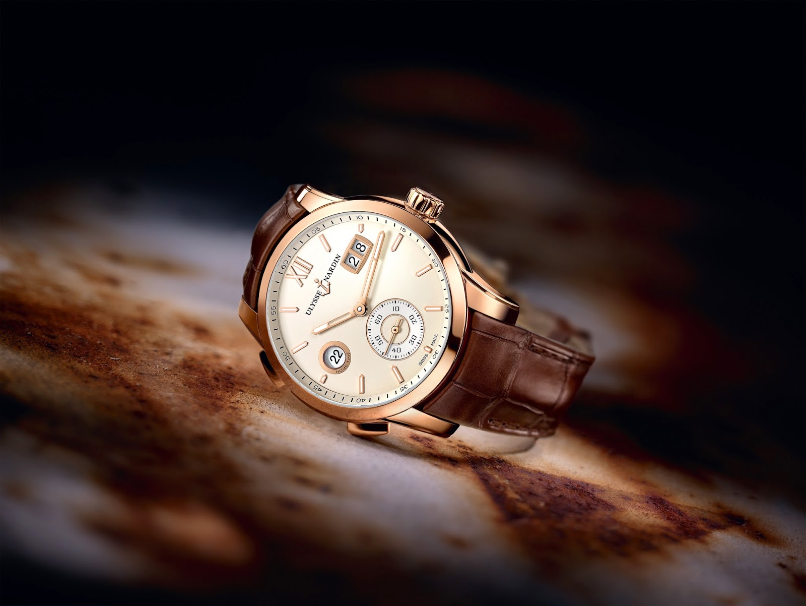 Ullysse Nardin Dual Time Manufacture3