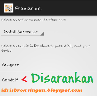Superuser Gandalf Root Android