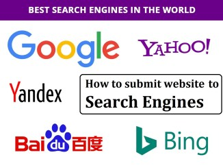 How To Submit URL to top Search Engines