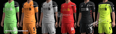 PES 2013 Liverpool F.C kits 2016/17 by Syirojuddin