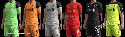 PES 2013 Liverpool F.C kits 2016/17 by Syirojuddin