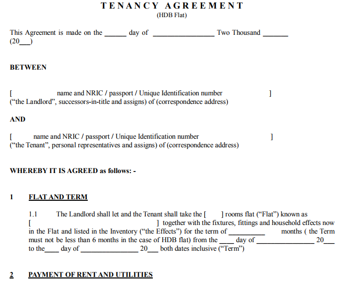 Pass Res Exam Tenancy Agreement What To Look Out For