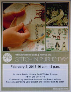 EGA Stitch in Public Day 2/2/2013