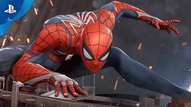 spiderman hadir dengan grafis menawan dan jalan cerita yang sama dengan film-nya