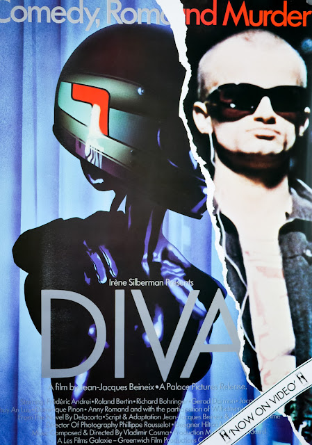 Diva (1981) - UK and Ireland Movie Poster