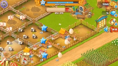 Village and Farm, game android berkebun terbaik 2018