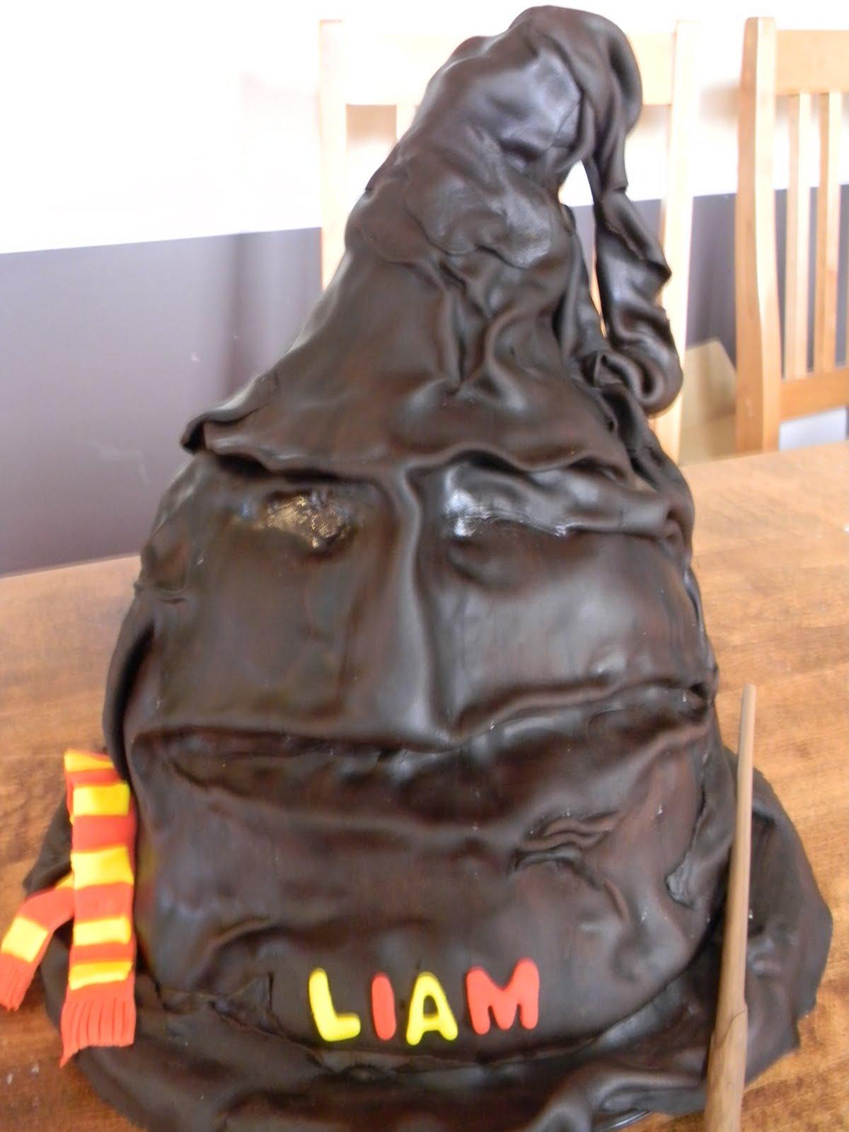 Harry Potter Sorting Hat Cake Aka 10th Birthday