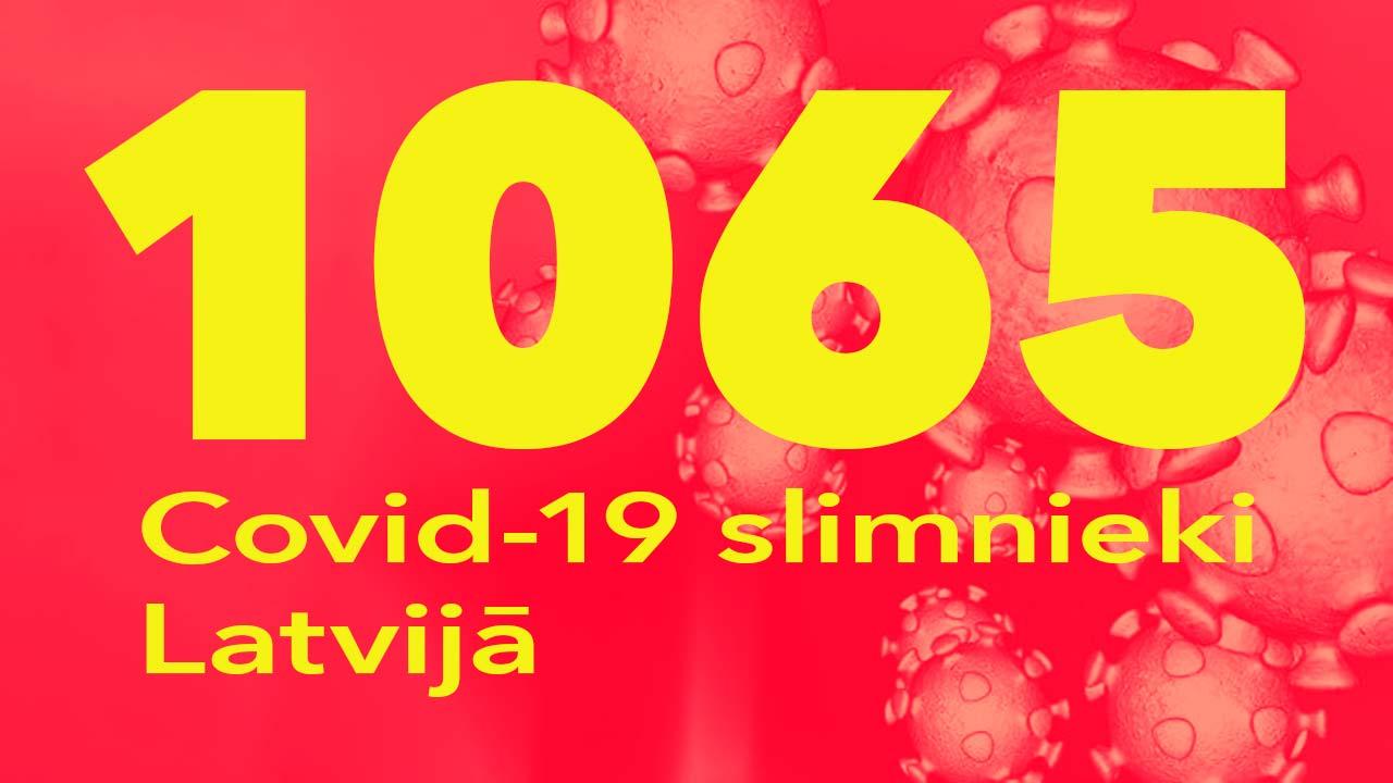 Koronavīrusa saslimušo skaits Latvijā 30.05.2020.