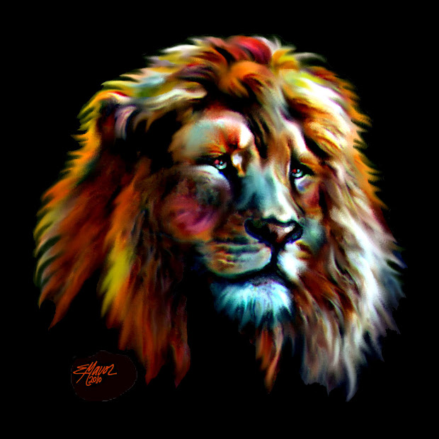 Majestic Fine Art America Lion