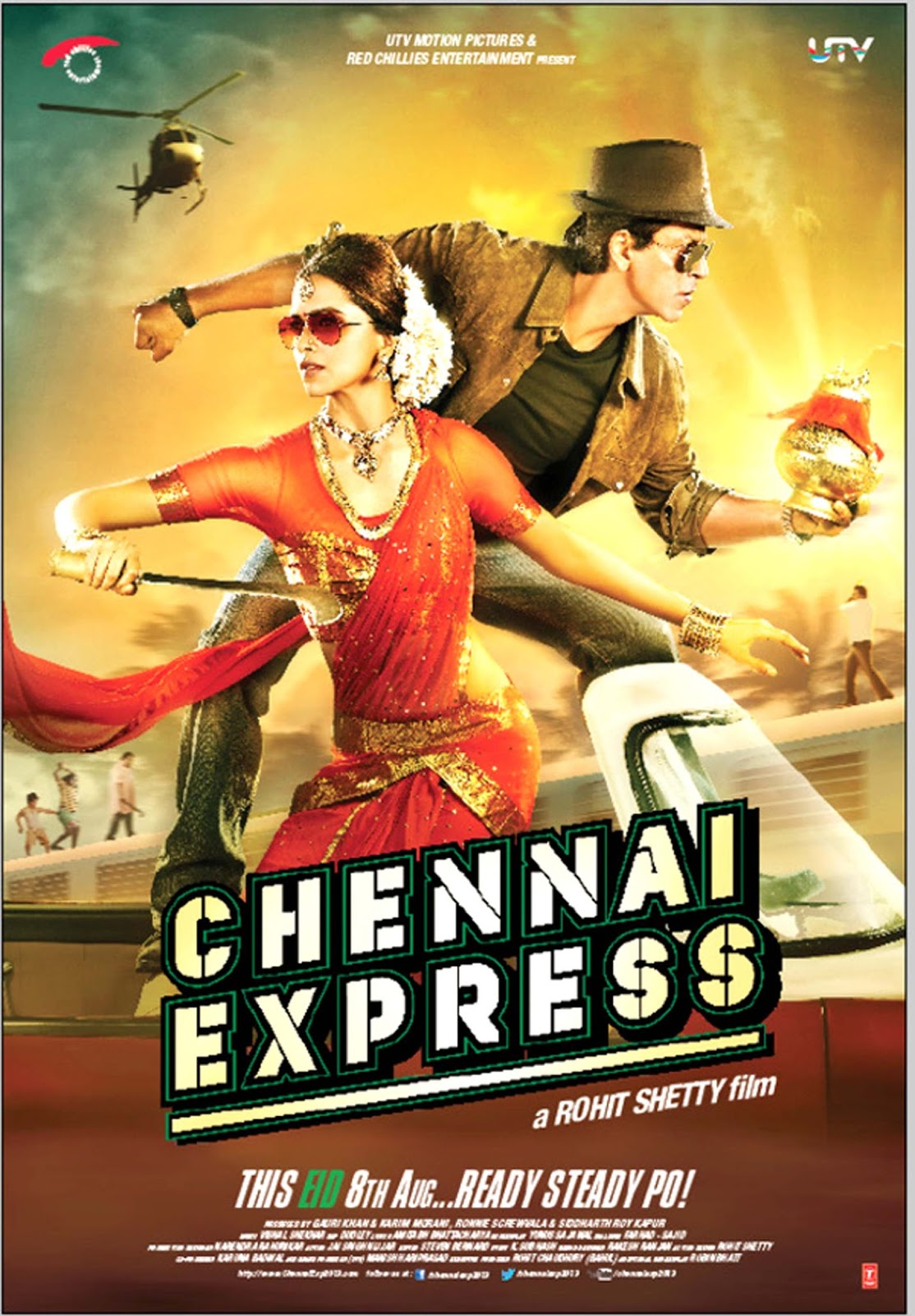 Poster Xpress Chennai Express 2013 Hd 1080p Full Movie Download