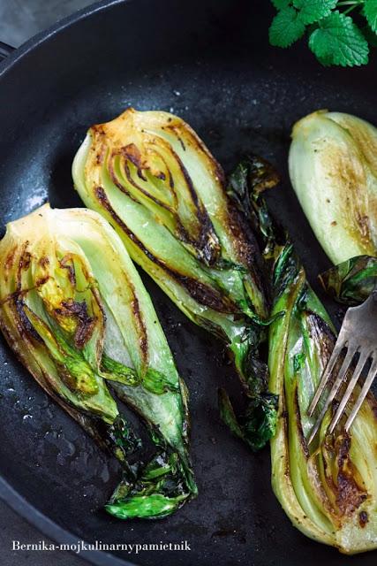 pok choi, kapusta, bernika, warzywa, kuchnia azjatycka, kulinarny pamietnik, obiad, zupa pho, pho