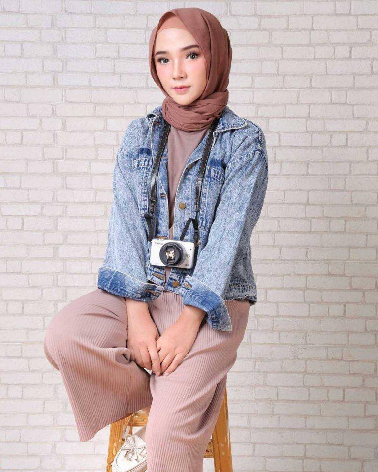 Fashion hijab remaja terbaru 2018 gaya masa kini teman cantik Fashion dan style remaja