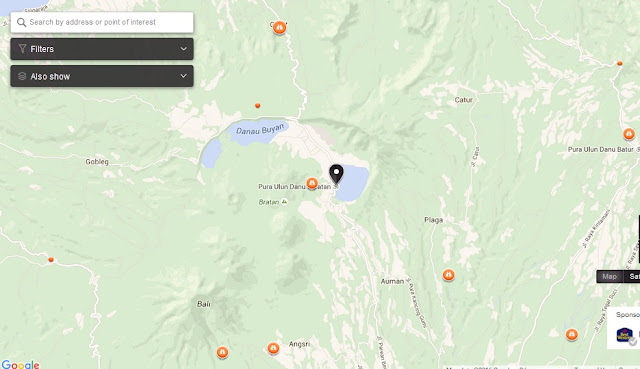 Ulun Danu Bratan Temple Bali Map,Things to do in Bali Island,Tourist Attractions in Bali,Map of Pura Ulun Danu Bratan Temple Bali,Pura Ulun Danu Bratan Temple Bali accommodation destinations attractions hotels map reviews photos pictures