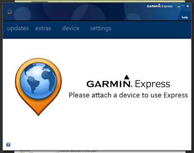 how to delete garmin express