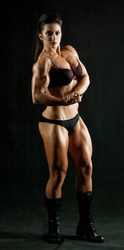 Valentina Mishina - Female Bodybuilder