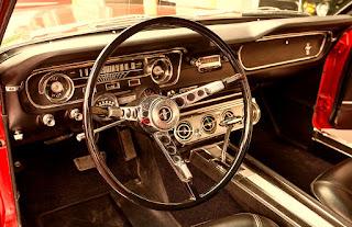1965 Ford Mustang Fastback Steering Wheel