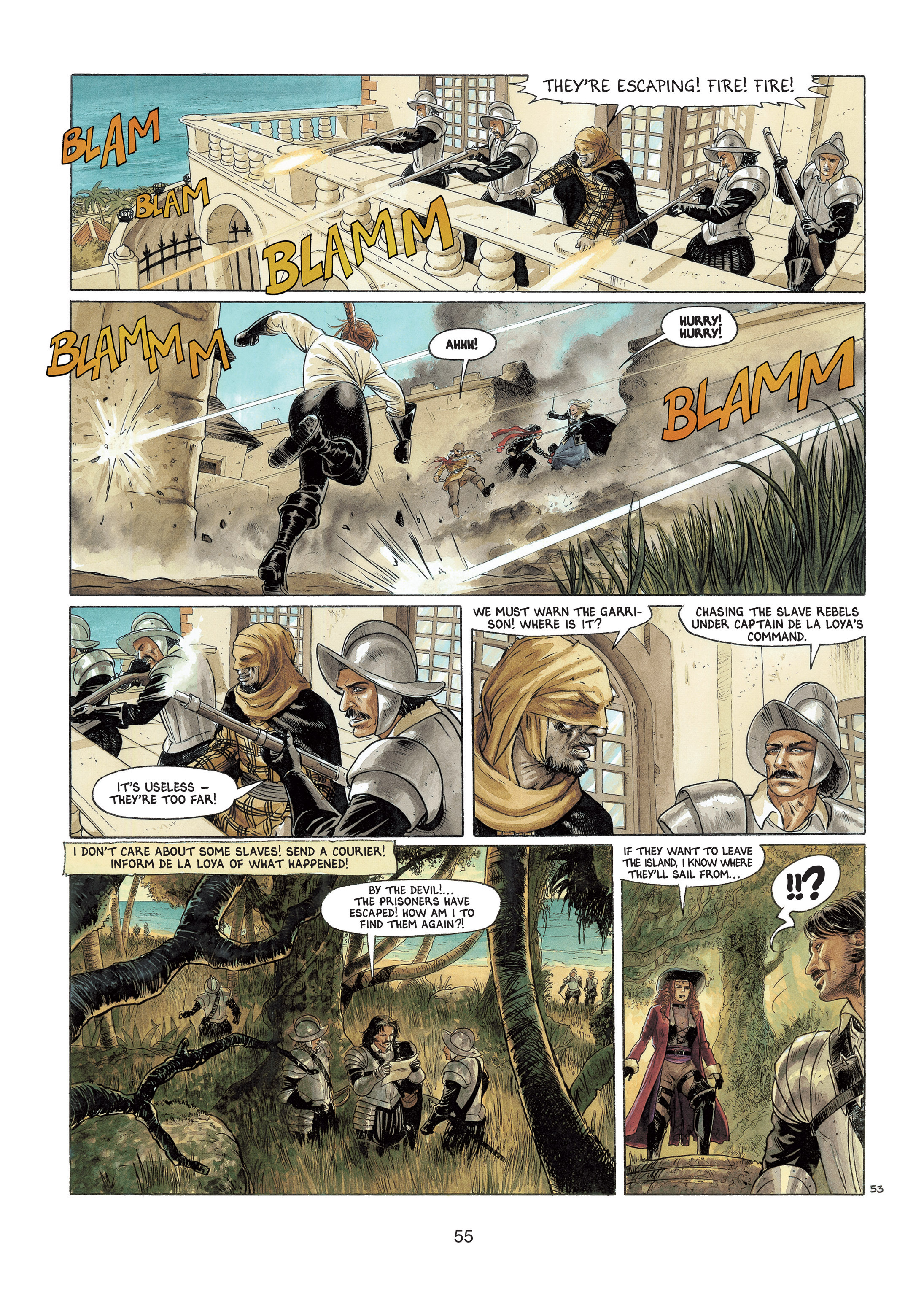 Read online Barracuda comic -  Issue #4 - 56