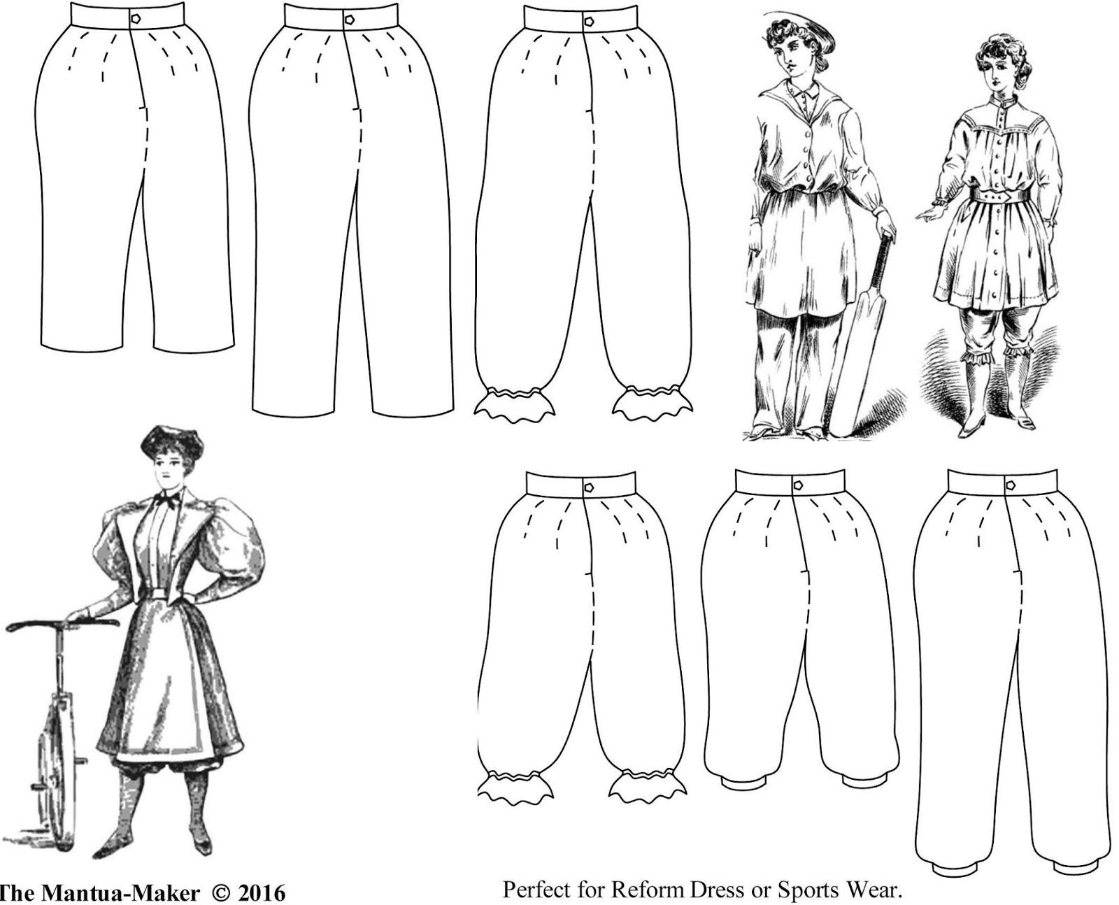 Deb Salisbury: Mantua-Maker, Magic Seeker: 1850 – 1900 Bloomers ...