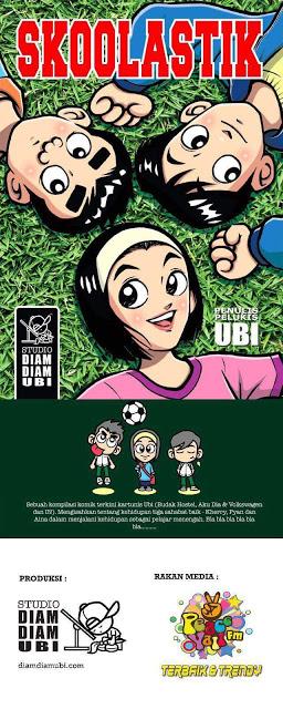 "Pelancaran Komik ""Skoolastik"" oleh Kartunis Ubi"