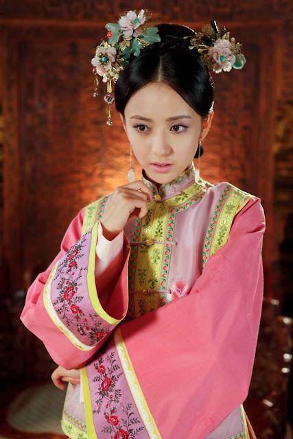 Qing Dynasty Costumes Tong Liya
