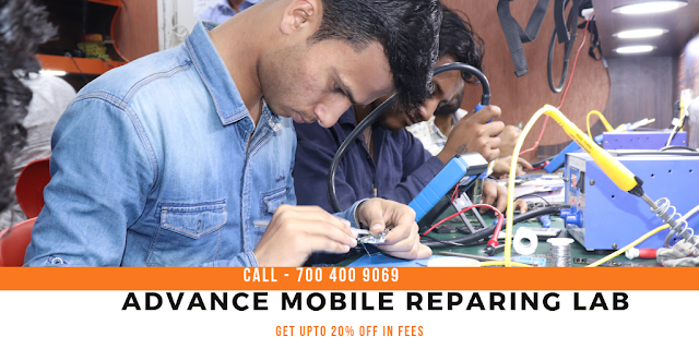 mobile repairing course in agra