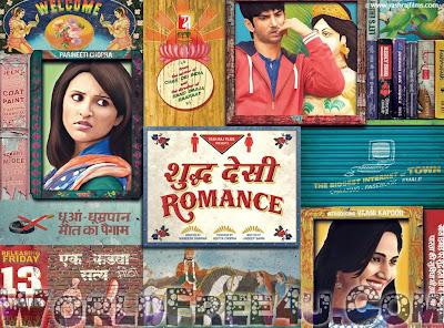 Cover Of Shuddh Desi Romance (2013) Hindi Movie Mp3 Songs Free Download Listen Online At worldfree4u.com