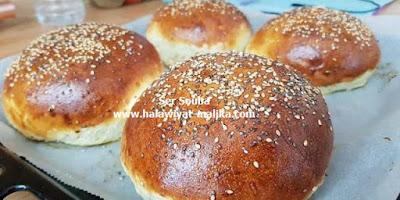 خبز البورغر روعة
