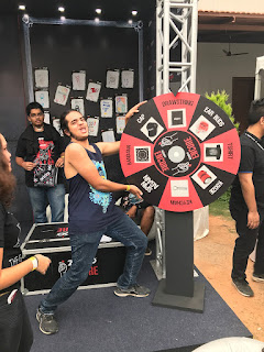 Wheel of Fortune at Zippo Encore Area at BOA 2017