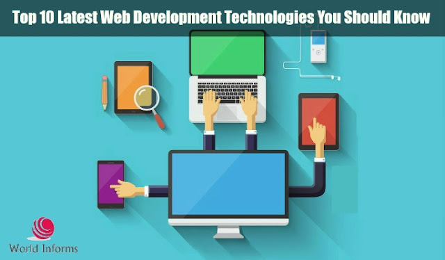 Top 10 Latest Web Development Technologies You Should Know