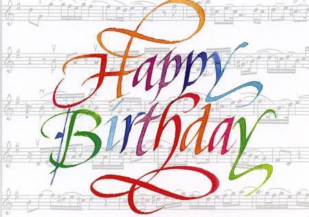 Wishing you a very happy birthday.