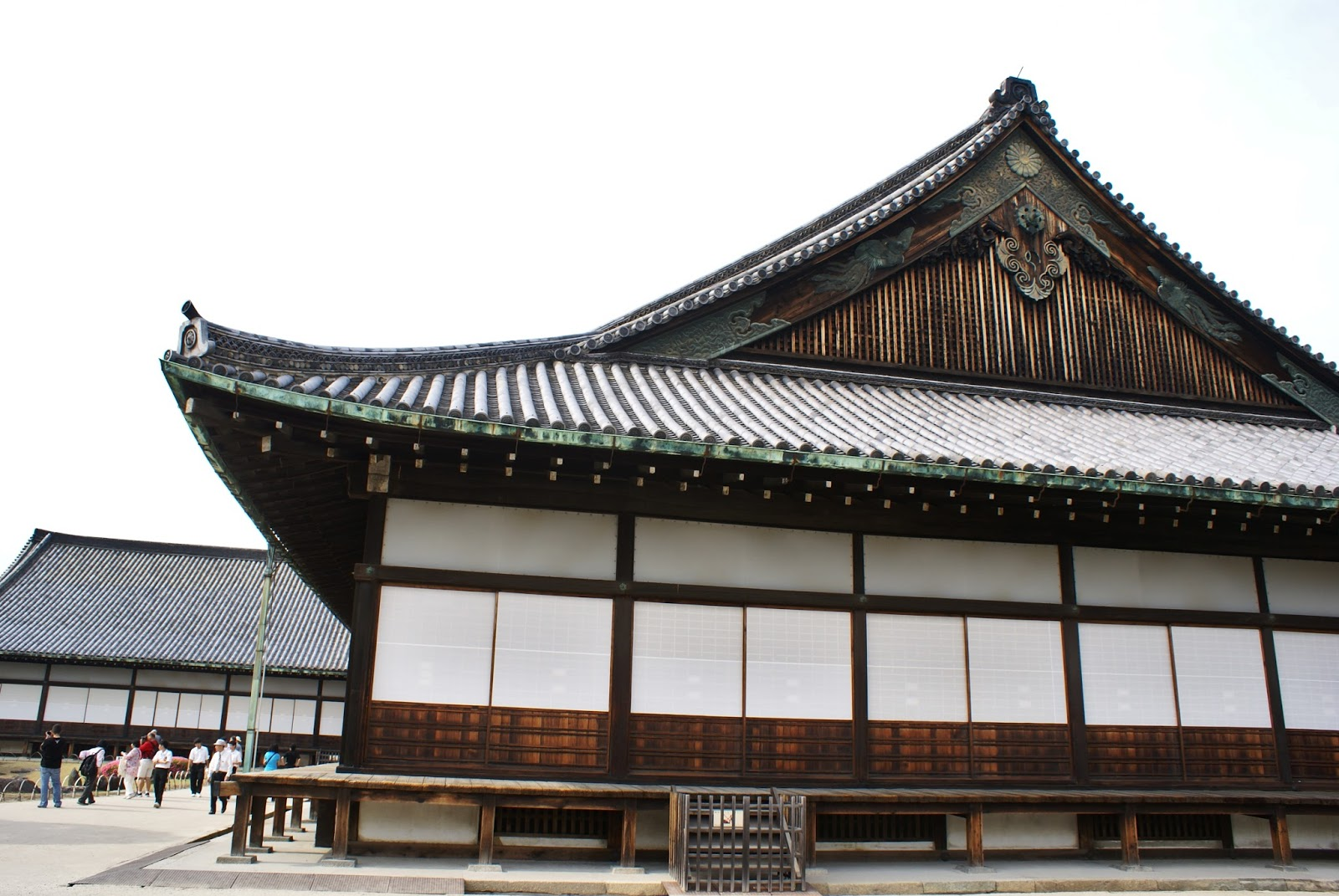 ninomaru nijo-jo castle kyoto japan asia