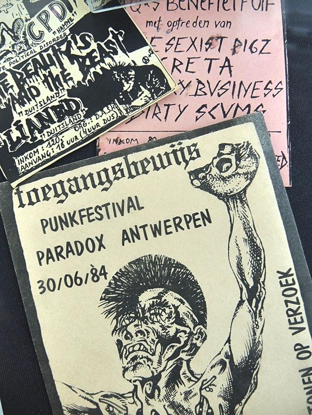 Antwerpen: Tentoonstelling 'Naughty Kids - Punk, Beeld & Storm in Antwerpen 1978-2018'