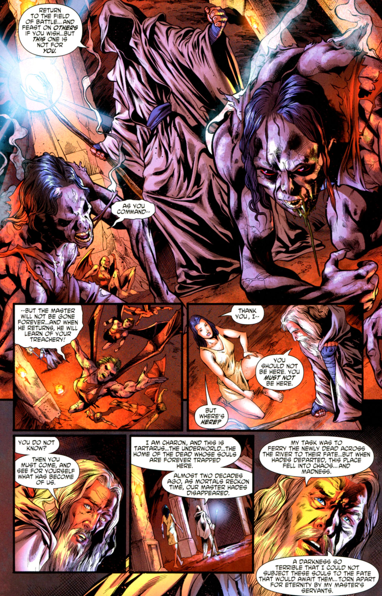 Read online Wonder Woman (2006) comic -  Issue #603 - 11