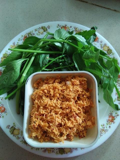Sambal Kelapa Penambah selera untuk Nasi Lemak