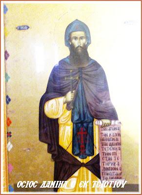 Αποτέλεσμα εικόνας για Οσίου Δανιήλ του Μετεωρίτου και εκ Τσιοτίου (Φαρκαδόνος) καταγομένου