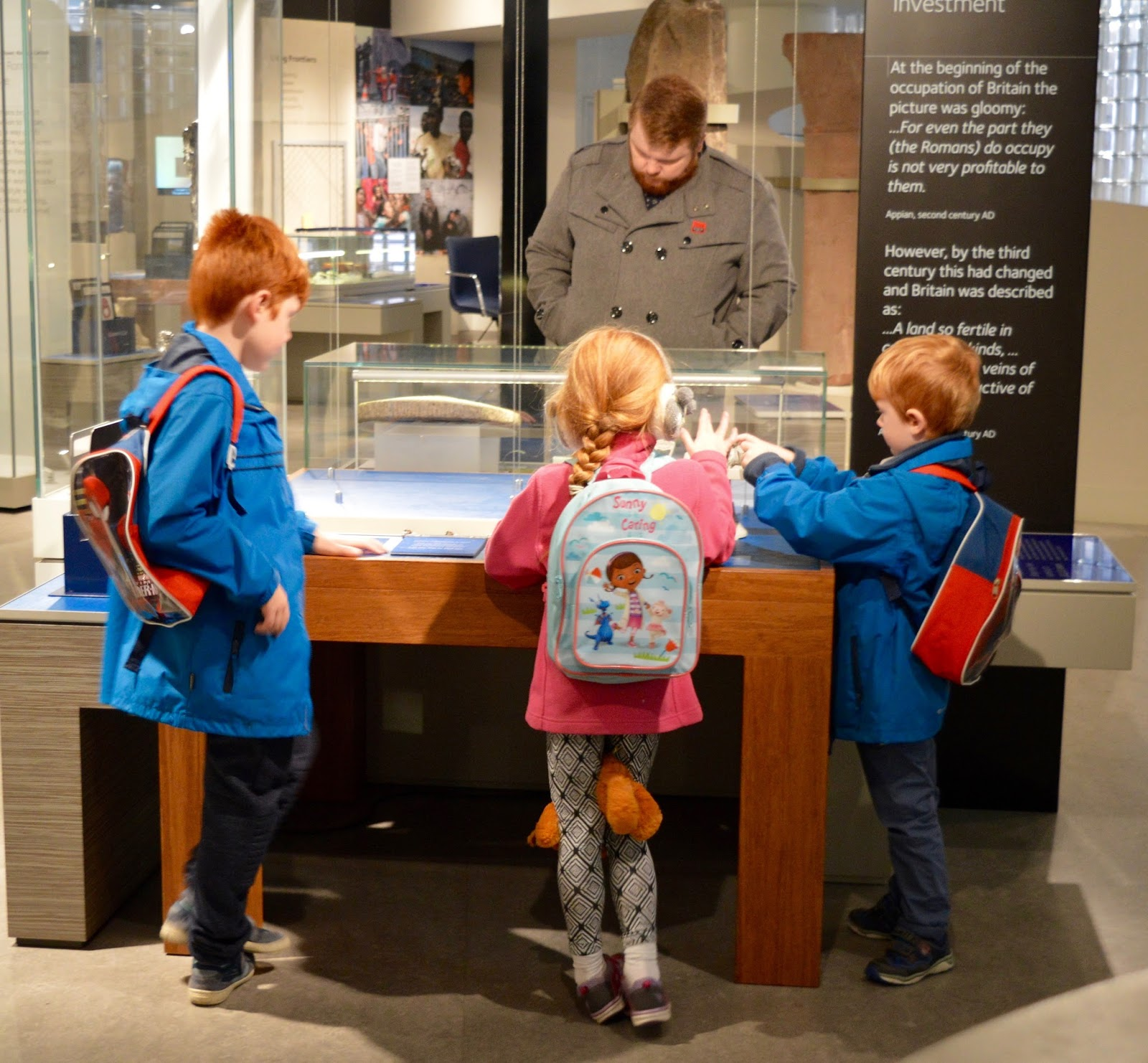 Great Days Out with Northern  | Our Day Trip to Carlisle by Train - Roman artefacts at Tullie museum