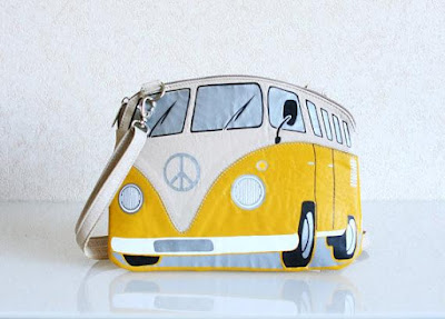 VW Van Leather Purse