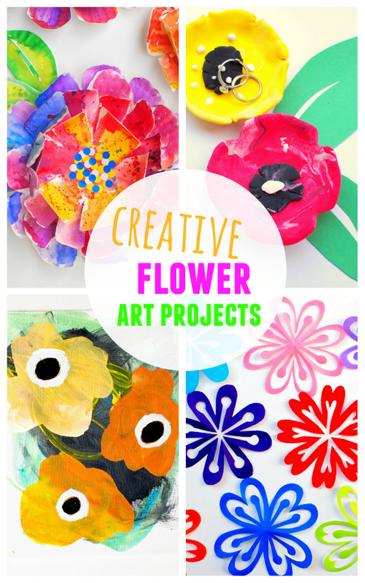 Our 30 Favorite Flower And Plant Art Craft Projects And Books