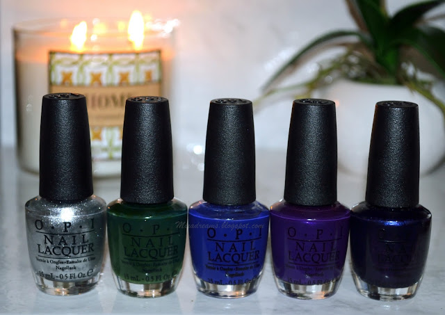 Ma collection de vernis OPI