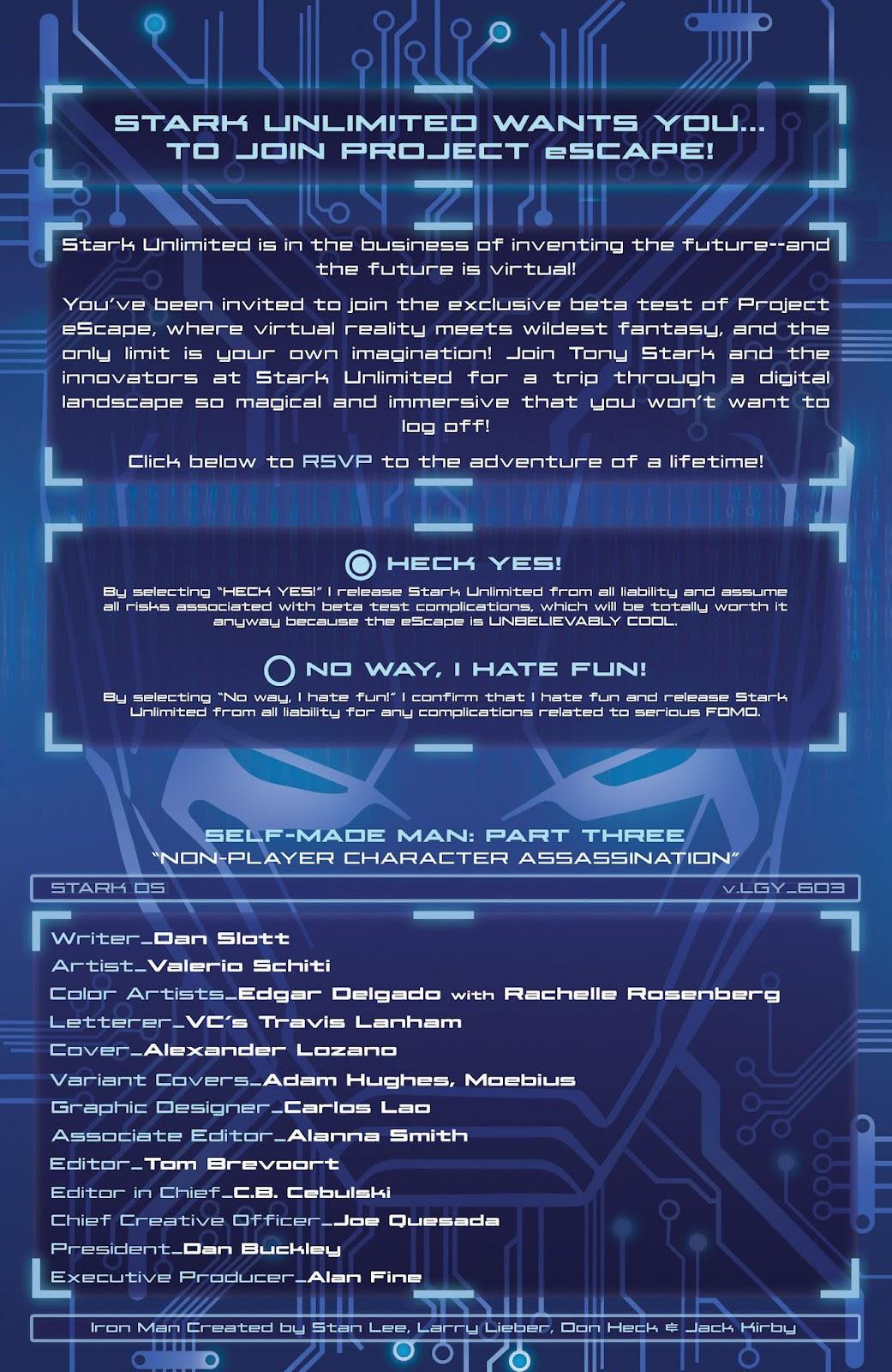 Read online Tony Stark: Iron Man comic -  Issue #3 - 5