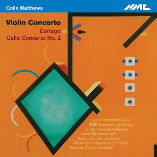 Colin Matthews - Violin Concerto - NMC Recordings