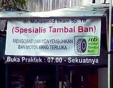 Banner Promosi Spesialis Tambal Ban
