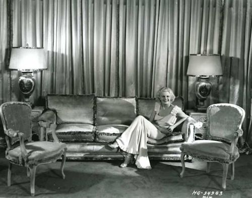 Phyllis Loves Classic Movies The Homes Of Jean Harlow