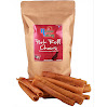 Holsome Valley Pork Roll Dog Chews-All Natural-Premium Rawhide Chews Alternative-No Preservatives-No Additives-Sourced And Made In The USA Only-Healthy Human Grade A Dog Treats-Highly Digestible-12 Pk