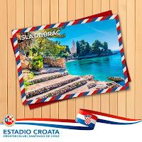 Estadio Croata Čile slike otok Brač Online