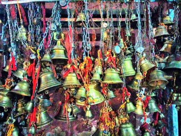 Maze of bells at Shiva dol, Sibsagar, Assam, India