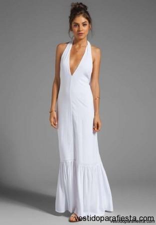 Vestidos blancos sencillos para fiestas