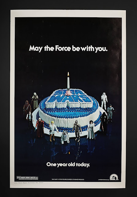 prop store auction star wars posters