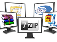Cara Mudah Extract File RAR dan ZIP di PC Komputer Atau laptop
